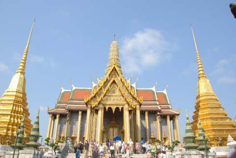 2.大皇宫(The Royal Grand Palace)